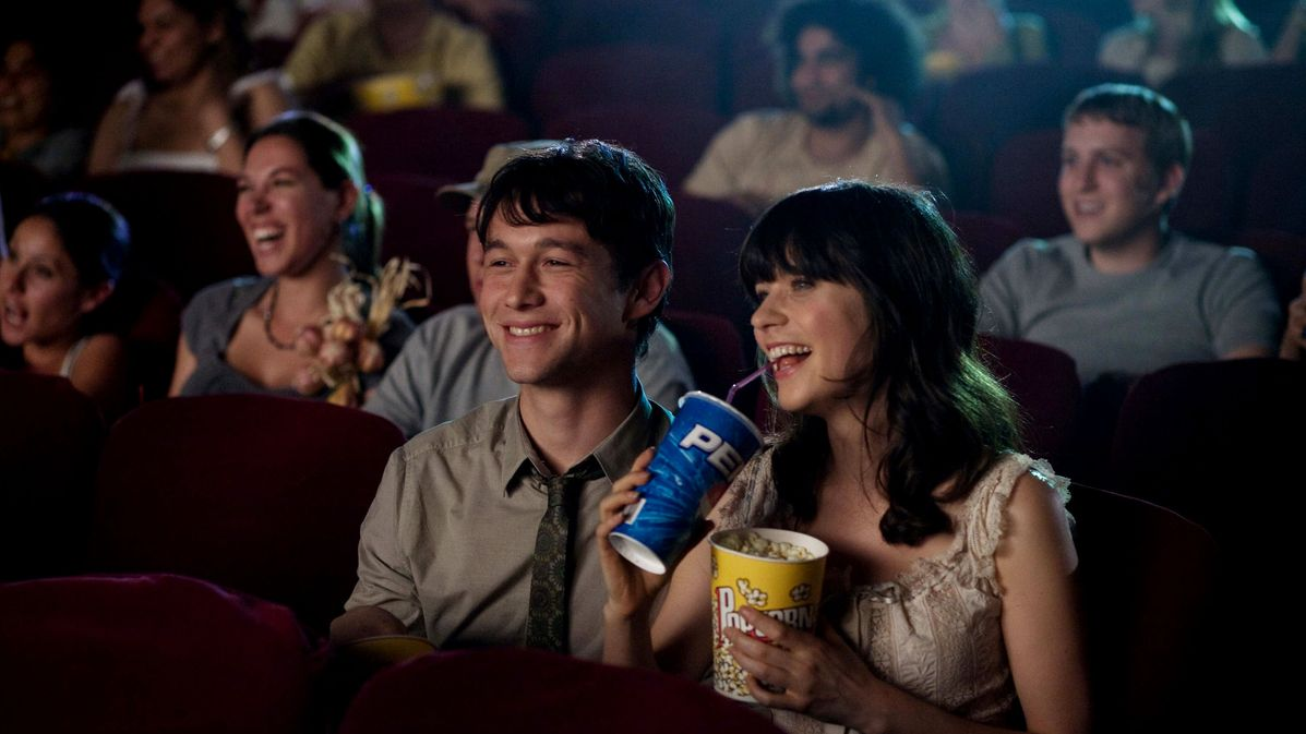 Movie Date scene from 500 Days of Summer