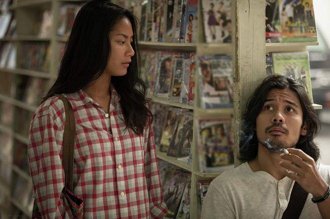 Tara Basro as Sari and Chicco Jerikho as Alek in A Copy of My Mind