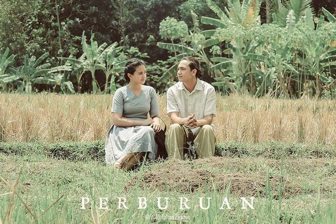 Ayushita and Adipati Dolken in Richard Oh's Perburuan