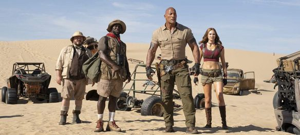Movie Review Jumanji The Next Level 2019