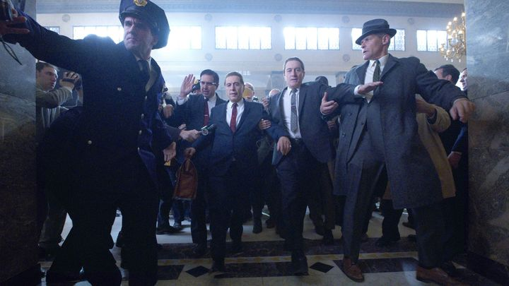 Review The Irishman (2019): Al Pacino and Robert De Niro