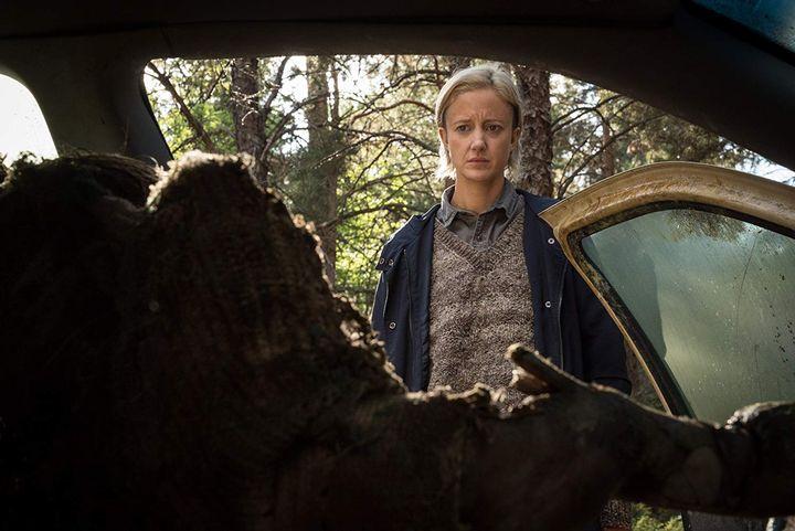 Review The Grudge (2020: Andrea Riseborough