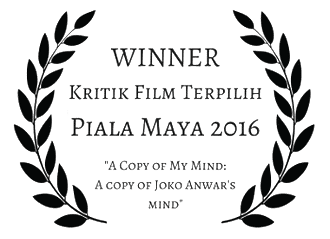 Winner of Kritik Film Terpilih Piala Maya 2016