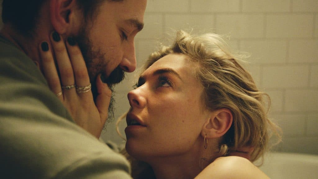 Shia LaBeouf and Vanessa Kirby in Pieces of a Women (2020)